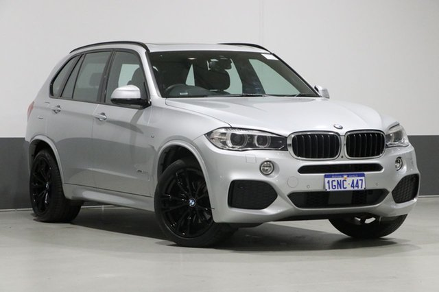 Used BMW X5 F15 MY16 xDrive 30D, 2018 BMW X5 F15 MY16 xDrive 30D Silver 8 Speed Automatic Wagon