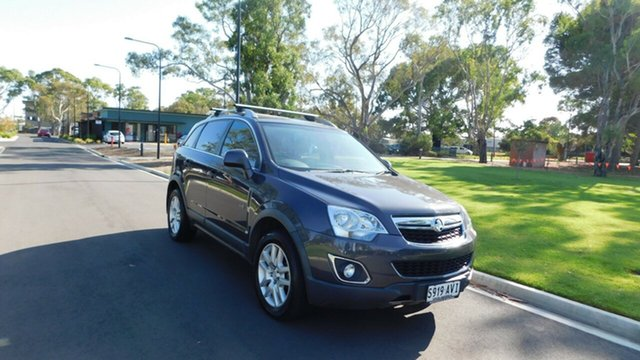 Used Holden Captiva CG Series II 5, 2012 Holden Captiva CG Series II 5 Grey 6 Speed Sports Automatic Wagon