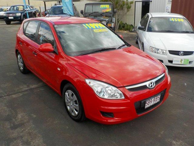 Used Hyundai i30 FD MY10 SLX, 2010 Hyundai i30 FD MY10 SLX Red 4 Speed Automatic Hatchback