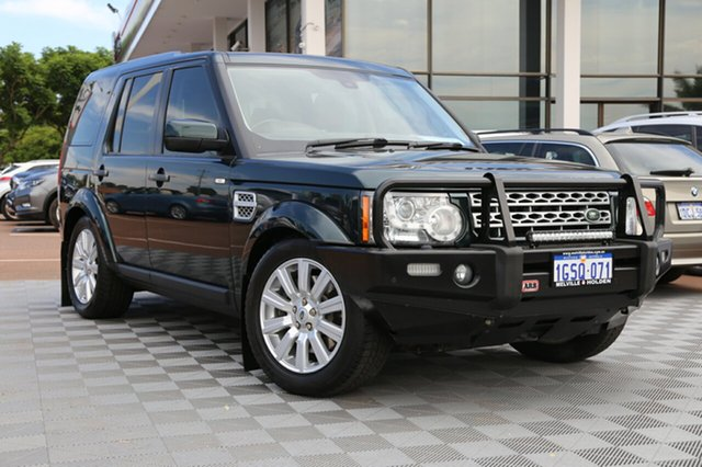 Used Land Rover Discovery 4 Series 4 L319 MY13 SDV6 SE, 2013 Land Rover Discovery 4 Series 4 L319 MY13 SDV6 SE Green 8 Speed Sports Automatic Wagon