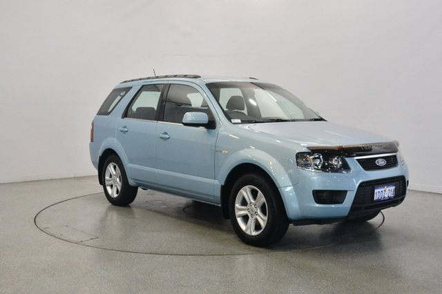 Used Ford Territory SY TX AWD, 2009 Ford Territory SY TX AWD Blue 6 Speed Sports Automatic Wagon
