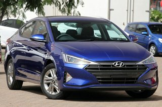 2018 Hyundai Elantra AD.2 MY19 Active Intense Blue 6 Speed Sports Automatic Sedan.