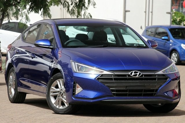 New Hyundai Elantra AD.2 MY19 Active, 2018 Hyundai Elantra AD.2 MY19 Active Intense Blue 6 Speed Sports Automatic Sedan