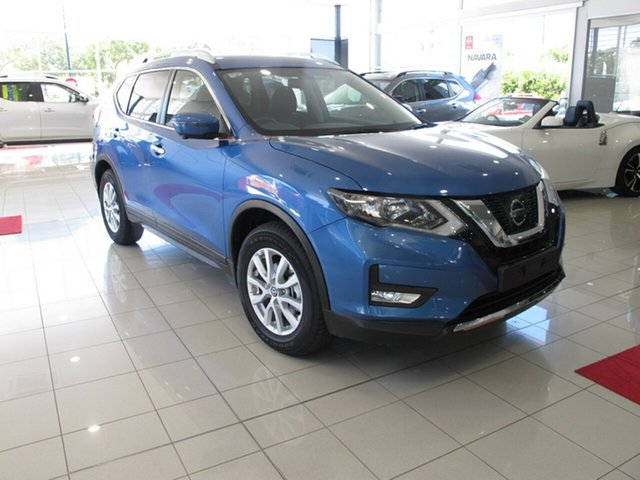 New Nissan X-Trail T32 Series II ST-L X-tronic 2WD, 2018 Nissan X-Trail T32 Series II ST-L X-tronic 2WD Marine Blue 7 Speed Constant Variable Wagon