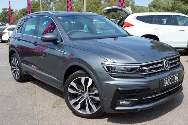 Used Volkswagen Tiguan 5N MY18 162TSI DSG 4MOTION Highline, 2018 Volkswagen Tiguan 5N MY18 162TSI DSG 4MOTION Highline Grey 7 Speed Sports Automatic Dual Clutch