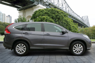2013 Honda CR-V RM VTi Navi Grey 5 Speed Automatic Wagon.