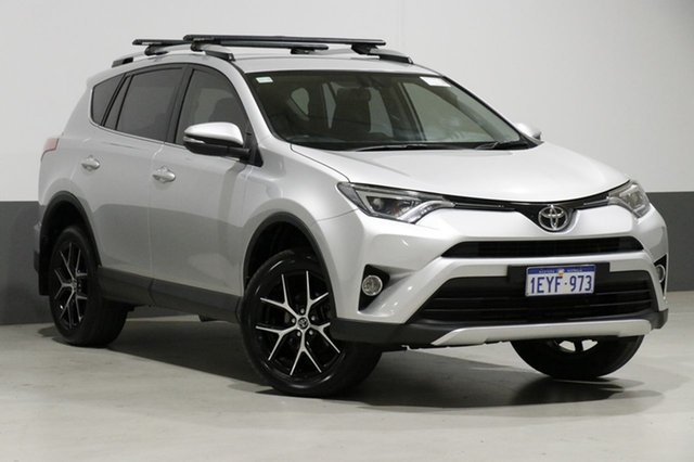 Used Toyota RAV4 ZSA42R MY16 GXL (2WD), 2016 Toyota RAV4 ZSA42R MY16 GXL (2WD) Silver Continuous Variable Wagon