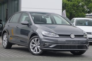 2018 Volkswagen Golf 7.5 MY19 110TSI DSG Comfortline Indium Grey 7 Speed.