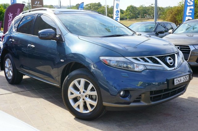 Used Nissan Murano Z51 Series 3 TI, 2013 Nissan Murano Z51 Series 3 TI Blue 6 Speed Constant Variable Wagon
