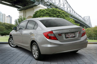 2012 Honda Civic 9th Gen VTi-L Silver 5 Speed Sports Automatic Sedan.