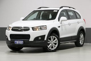 2015 Holden Captiva CG MY15 7 LT (AWD) White 6 Speed Automatic Wagon.