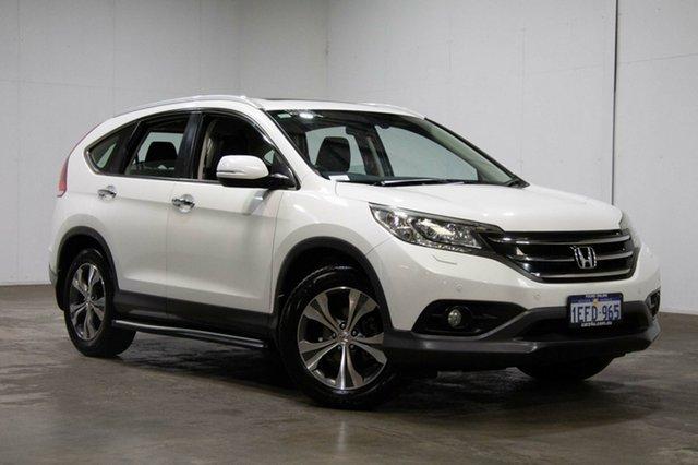 Used Honda CR-V RM MY14 VTi-L 4WD, 2013 Honda CR-V RM MY14 VTi-L 4WD White 5 Speed Sports Automatic Wagon