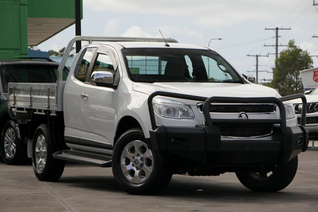 Used Holden Colorado RG MY15 LTZ Space Cab, 2014 Holden Colorado RG MY15 LTZ Space Cab White 6 Speed Sports Automatic Utility