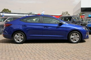 2018 Hyundai Elantra AD.2 MY19 Active Intense Blue 6 Speed Sports Automatic Sedan