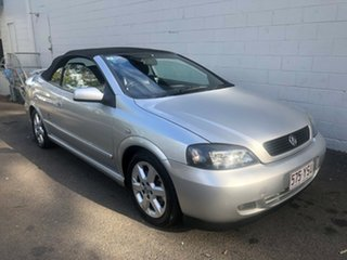 2002 Holden Astra TS Metallic Silver 4 Speed Automatic Convertible.