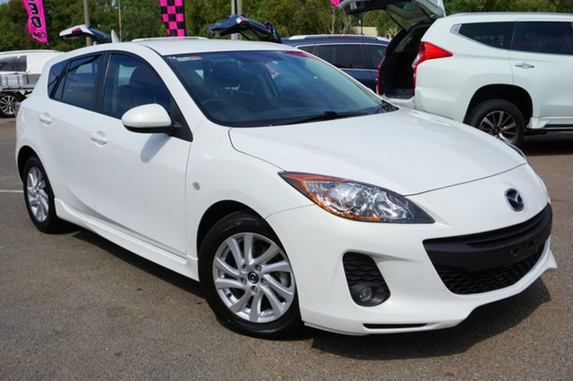 Used Mazda 3 BL10F2 Maxx Activematic Sport, 2012 Mazda 3 BL10F2 Maxx Activematic Sport White 5 Speed Sports Automatic Hatchback
