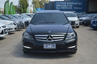 2013 Mercedes-Benz C250 W204 MY12 CDI Elegance BE Black 7 Speed Automatic G-Tronic Sedan.
