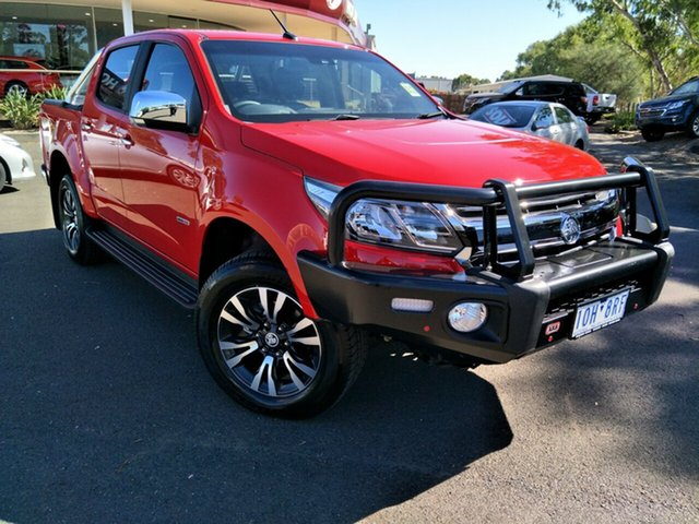 Demo Holden Colorado RG MY19 LTZ Pickup Crew Cab, 2018 Holden Colorado RG MY19 LTZ Pickup Crew Cab Absolute Red 6 Speed Sports Automatic Utility