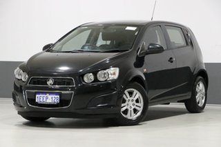 2012 Holden Barina TM Black 6 Speed Automatic Hatchback.