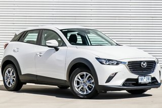 2018 Mazda CX-3 DK MY17.5 Neo (FWD) (5Yr) Snowflake White Pearl 6 Speed Automatic Wagon