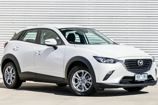 Used Mazda CX-3 DK MY17.5 Neo (FWD) (5Yr), 2018 Mazda CX-3 DK MY17.5 Neo (FWD) (5Yr) Snowflake White Pearl 6 Speed Automatic Wagon