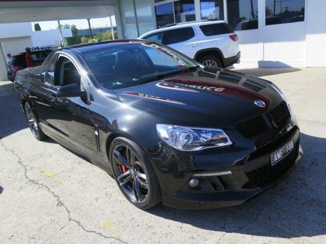 Used Holden Special Vehicles Maloo Gen-F MY15 R8, 2015 Holden Special Vehicles Maloo Gen-F MY15 R8 Phantom 6 Speed Manual Utility