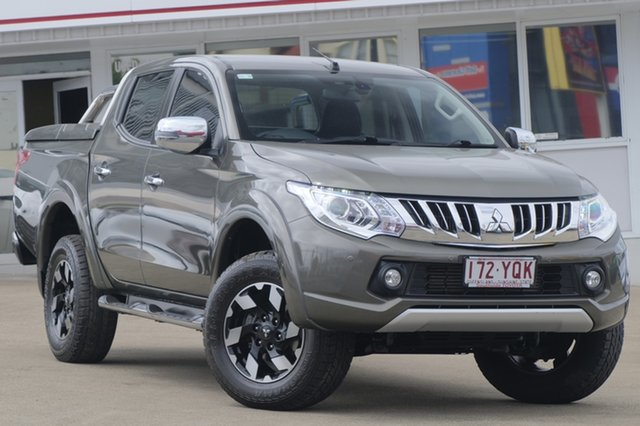 Used Mitsubishi Triton MQ MY16 Exceed Double Cab, 2015 Mitsubishi Triton MQ MY16 Exceed Double Cab Bronze 5 Speed Sports Automatic Utility