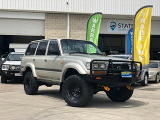 1997 Toyota Landcruiser FZJ80R GXL Silver 4 Speed Automatic Wagon