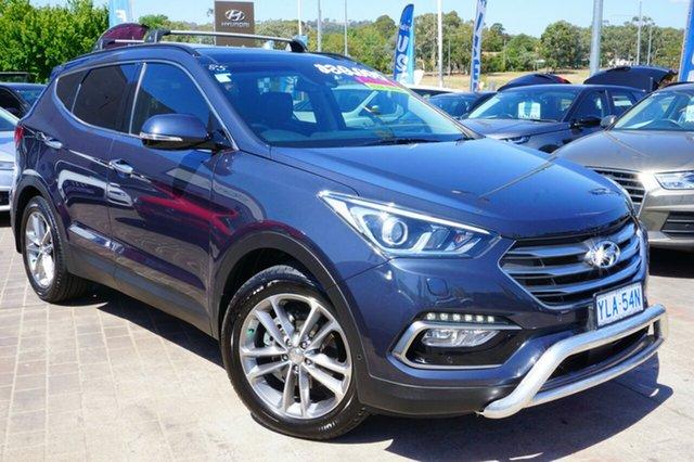 Used Hyundai Santa Fe DM3 MY16 Highlander, 2015 Hyundai Santa Fe DM3 MY16 Highlander Blue 6 Speed Sports Automatic Wagon