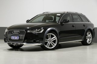 2014 Audi A6 4GH MY14 Allroad Quattro LE Grey 7 Speed Auto Direct Shift Wagon.