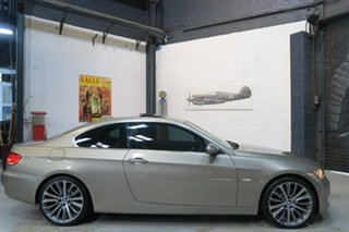 2008 BMW 325i E92 MY08 Steptronic Beige 6 Speed Sports Automatic Coupe.