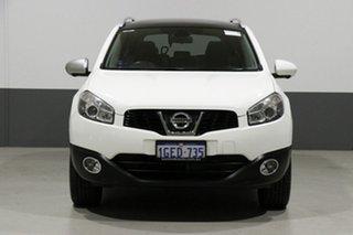 2012 Nissan Dualis J10 Series 3 +2 TI (4x2) White 6 Speed CVT Auto Sequential Wagon.