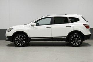 2012 Nissan Dualis J10 Series 3 +2 TI (4x2) White 6 Speed CVT Auto Sequential Wagon