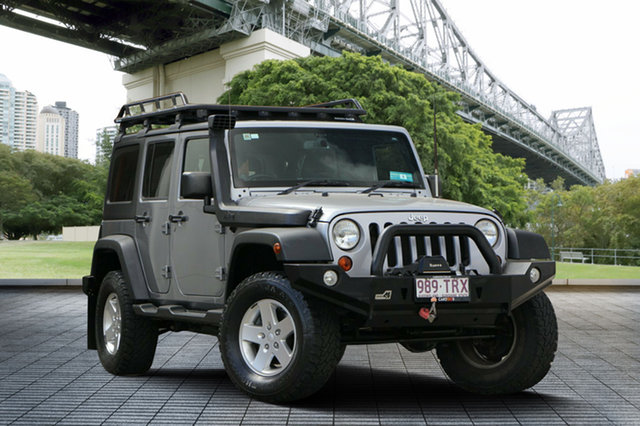 Used Jeep Wrangler JK MY2013 Unlimited Sport, 2013 Jeep Wrangler JK MY2013 Unlimited Sport Silver 6 Speed Manual Softtop