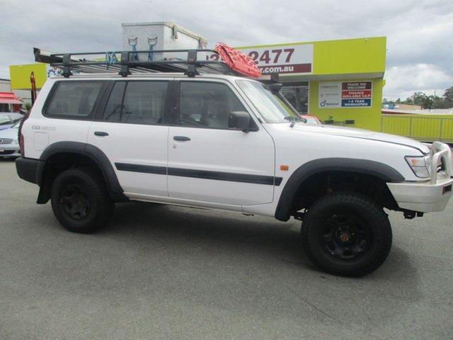 Used Nissan Patrol GU ST, 1998 Nissan Patrol GU ST White 5 Speed Manual Wagon