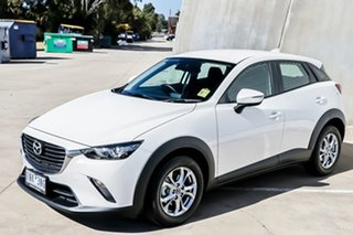 2018 Mazda CX-3 DK MY17.5 Neo (FWD) (5Yr) Snowflake White Pearl 6 Speed Automatic Wagon.