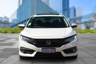 2018 Honda Civic 10th Gen MY18 RS White Orchid 1 Speed Constant Variable Sedan