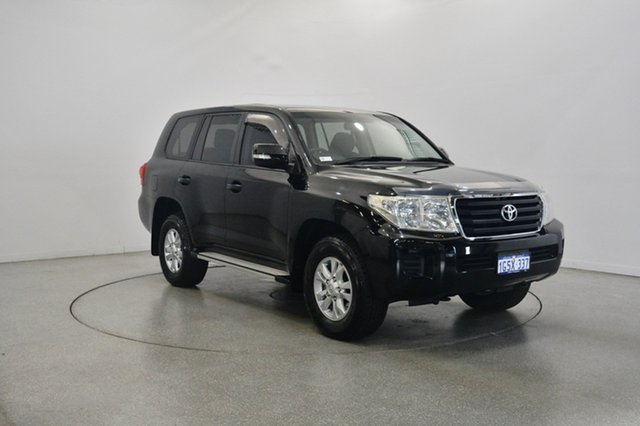 Used Toyota Landcruiser VDJ200R MY12 GXL, 2012 Toyota Landcruiser VDJ200R MY12 GXL Black 6 Speed Sports Automatic Wagon