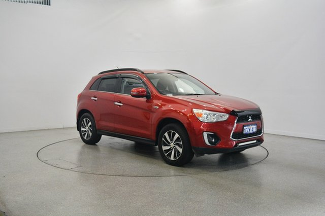 Used Mitsubishi ASX XB MY14 Aspire 2WD, 2014 Mitsubishi ASX XB MY14 Aspire 2WD Red 6 Speed Constant Variable Wagon