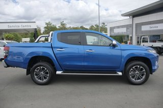 2018 Mitsubishi Triton MR MY19 GLS (4x4) Blue 6 Speed Manual Double Cab Pickup