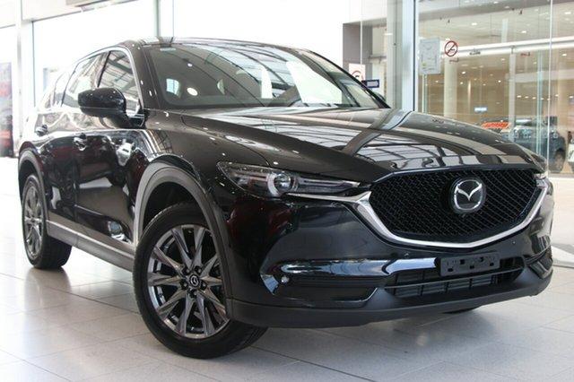 New Mazda CX-5 KF4WLA Akera SKYACTIV-Drive i-ACTIV AWD, 2018 Mazda CX-5 KF4WLA Akera SKYACTIV-Drive i-ACTIV AWD Jet Black 6 Speed Sports Automatic Wagon