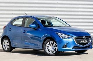 2018 Mazda 2 DJ2HAA Neo SKYACTIV-Drive Dynamic Blue 6 Speed Sports Automatic Hatchback.