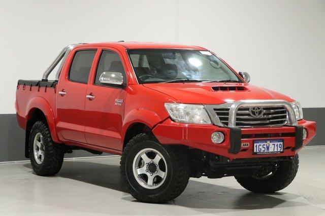 Used Toyota Hilux KUN26R MY12 SR5 (4x4), 2013 Toyota Hilux KUN26R MY12 SR5 (4x4) Red 5 Speed Manual Dual Cab Pick-up