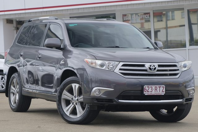 Used Toyota Kluger GSU45R MY11 KX-S AWD, 2011 Toyota Kluger GSU45R MY11 KX-S AWD Grey 5 Speed Sports Automatic Wagon