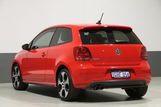 2013 Volkswagen Polo 6R MY13 GTi Red 7 Speed Auto Direct Shift Hatchback