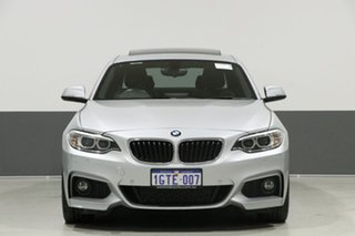 2014 BMW 228i F22 M Sport Glacier Silver 8 Speed Sports Automatic Coupe.