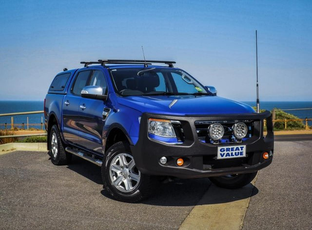 Used Ford Ranger PX XLT, 2015 Ford Ranger PX XLT Blue 6 Speed Sports Automatic Utility