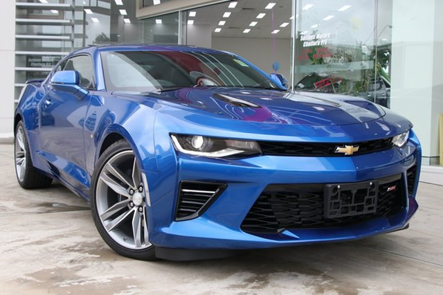 New Chevrolet Camaro MY18 2SS, 2018 Chevrolet Camaro MY18 2SS Riverside Blue 8 Speed Sports Automatic Coupe