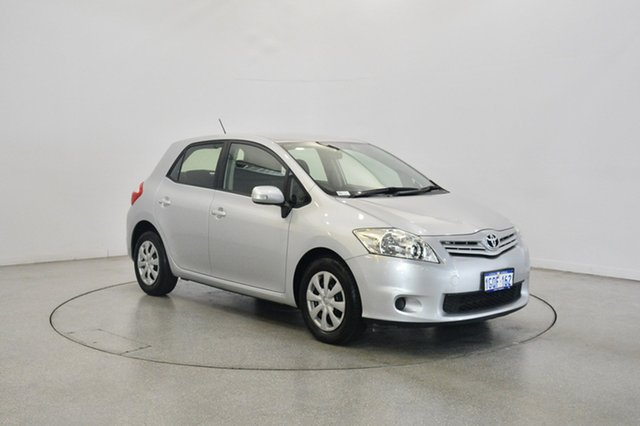 Used Toyota Corolla ZRE152R MY11 Ascent, 2012 Toyota Corolla ZRE152R MY11 Ascent Silver 4 Speed Automatic Hatchback