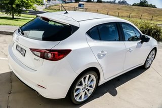 2018 Mazda 3 BN5438 SP25 SKYACTIV-Drive Snowflake White Pearl 6 Speed Sports Automatic Hatchback